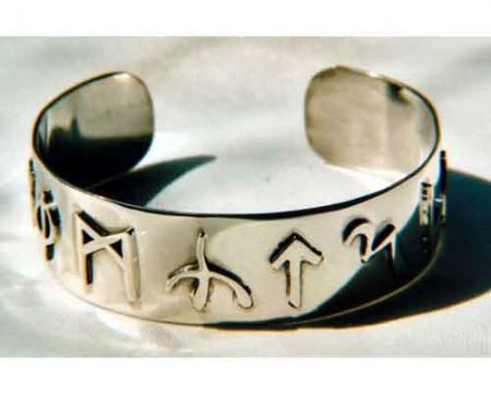 Armspange mit wählbaren Runen