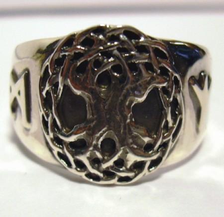 Keltischer Ring Lebensbaum