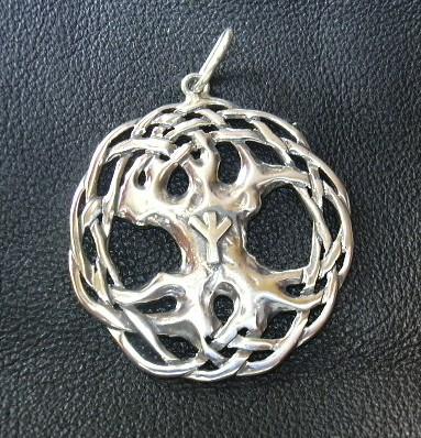 Kettenanhänger keltischer Lebensbaum