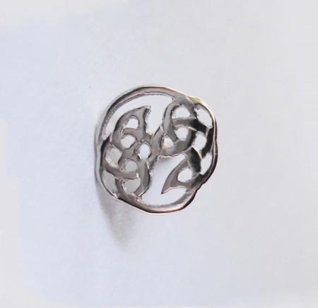 Keltischer Ohrstecker Knoten