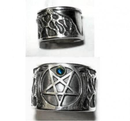 Pentagramm-Ring